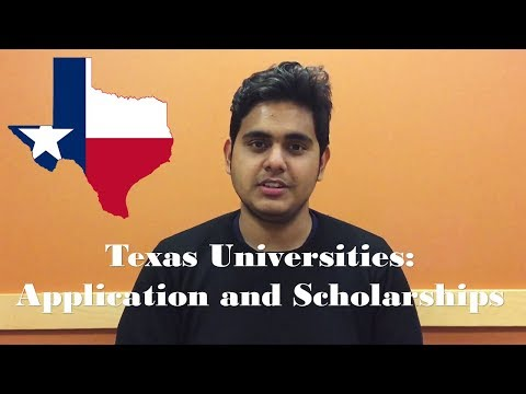 Texas Universities: Application and Scholarships | $1000 scholarship enables in-state tuition?
