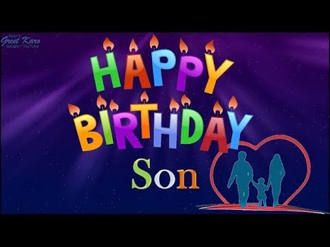 Birthday Wishes For Son From Parents
