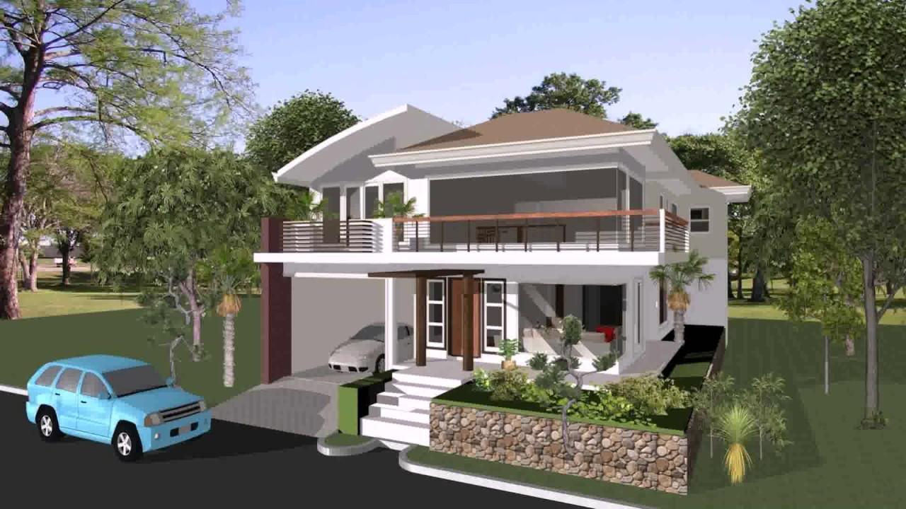 Half Concrete House Design Philippines Youtube