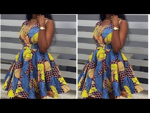 Download How to cut and sew a short Flare gown/dress.(Detailed)