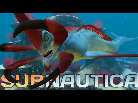 Subnautica Gameplay - EATEN ALIVE! Reaper Leviathan Monsters