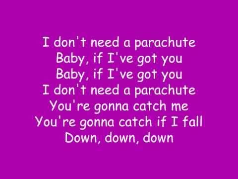 Parachute- Cheryl Cole + LYRICS