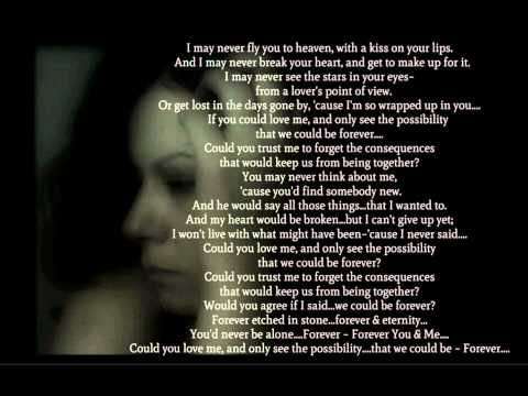 We Could Be Forever - Eli Young Band....Lyrics
