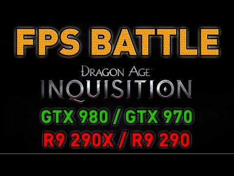 Dragon Age: Inquisition - GTX 980/GTX 970/R9 290X/R9 290 - FPS Battle - Nvidia Vs AMD [Benchmark]
