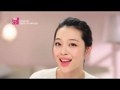 韩国女孩-化妆技巧(清新脱俗)-女生必看@@