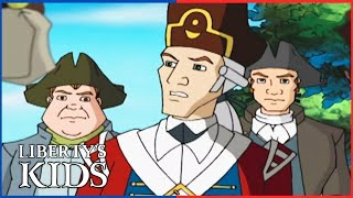 Liberty's Kids HD 111 - Postmaster General Franklin | History Cartoons for Children