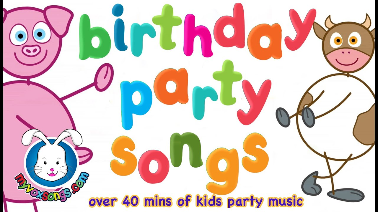 Party Songs for Kids | Birthday Party Music & Songs - YouTube