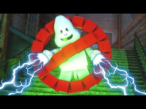 Lego Dimensions Ghostbusters 2017 HD Full Episode Cutscenes | Lego Ghostbusters For Kids
