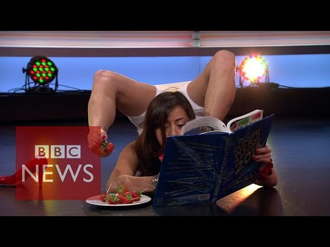 Extreme body contortion - BBC News
