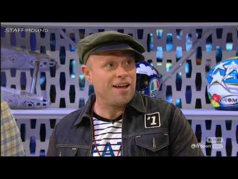 Keith Flint with Steve Mercer on MotoGP tonight