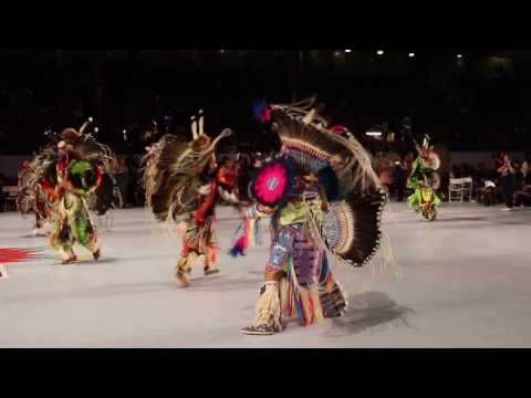 Sonny Littlehead's 18 and Under Boys Fancy Special @ Gathering of Nations Powwow 2017