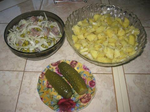 Ужин из двух блюд быстро и просто, сытно и вкусно.