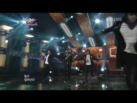 120224 BRIAN Let this die @ Music Bank