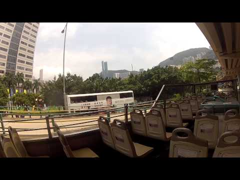 Hong Kong Island Bus Tour 11 05 2013 Part1