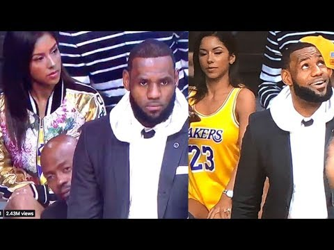 Hot Chick Sitting CLOSE to Lebron James Identified As She Becomes A Viral HIT!
