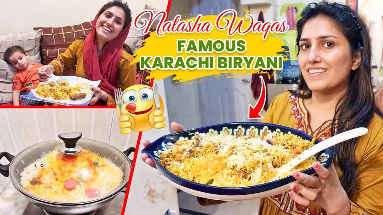 Biryani Recipe   Cooking With Kids is so Tough   Natasha Waqas Vlogs