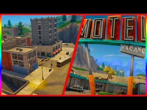New City And Underground Mine | Fortnite Battle Royale