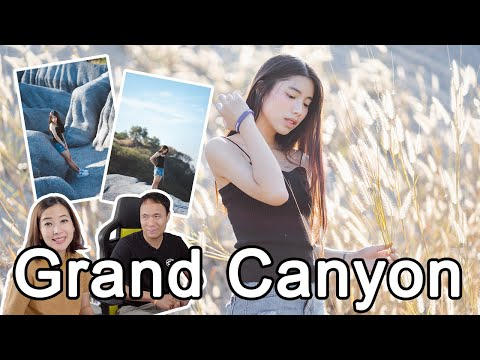 Lightroom โทนหญ้าสีน้ำตาล Grand Canyon - วันที่ 15 Jan 2019