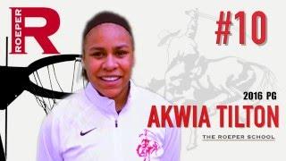AKWIA TILTON 2016 The Roeper HS Basketball Highlights