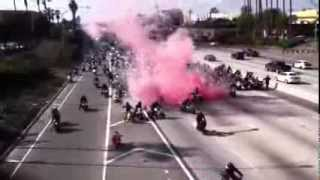 Bikers Shutdown Freeway for Marriage Proposal