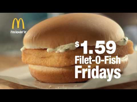 McDonald's Filet O Fish, Fridays Are Back 맥도날드 필레오피시