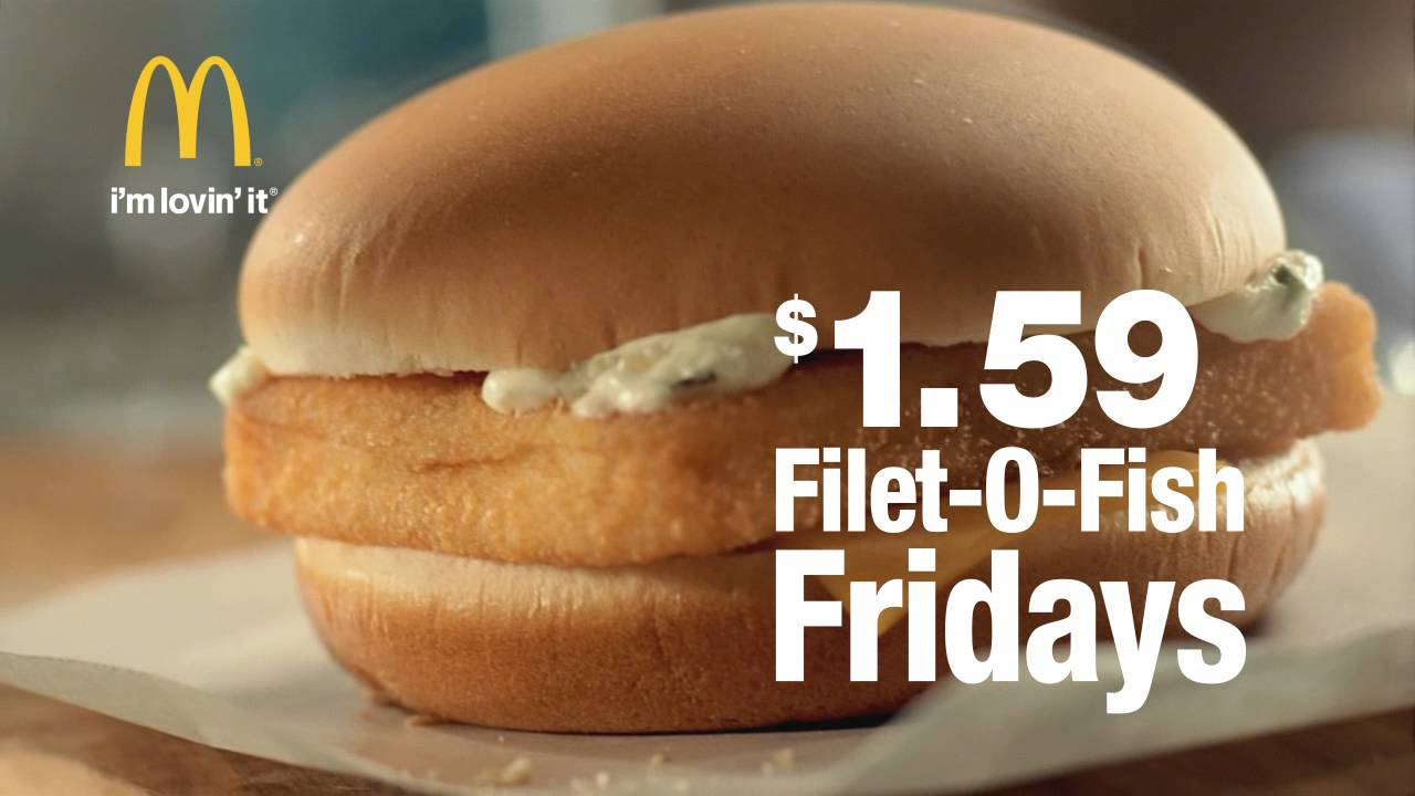 mcdonald 39 s filet o fish fridays are back youtube