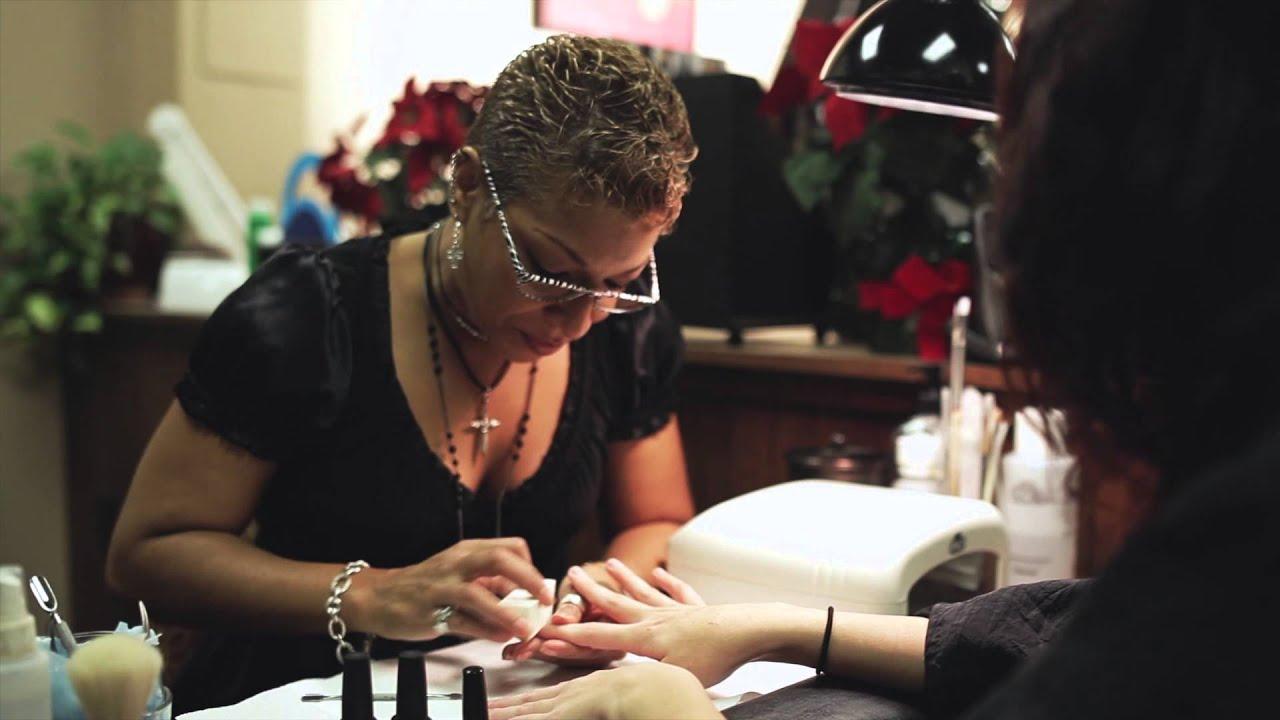 Hair & Nail Salon - Tinton Falls NJ - Salon DeJaVu - YouTube