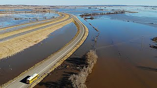 Levee breach floods town of Craig, Mo. in Holt County thumbnail