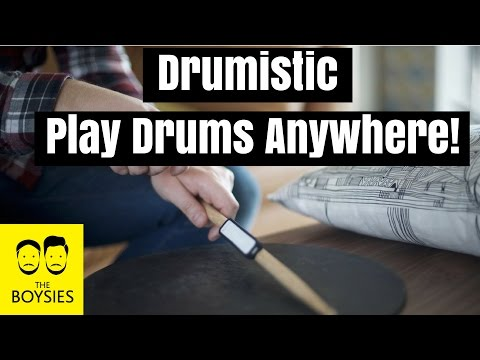 Episode 40 - Drumistic - Play the Drums Anywhere! - Kickstarter Video Review and Reaction