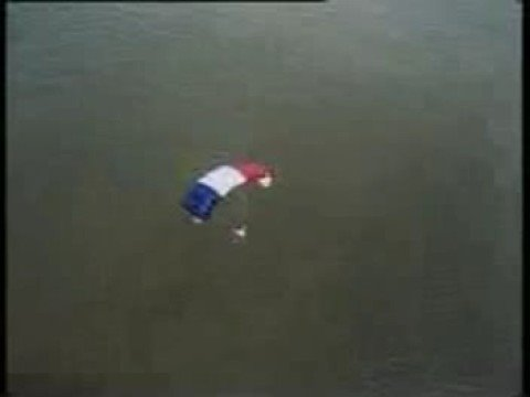 Tancarville 53m BASE Jump From A Bridge In France