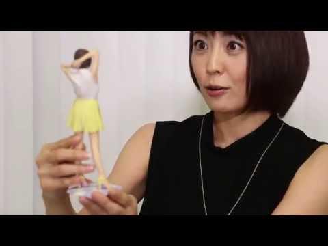 【小林麻耶フィギュア化】3Dプリント・フィギュア™ - 本人コメント