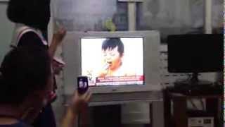 Zouk on TV patrol Tacloban