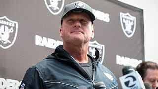 Coach Gruden discusses new roster additions, recaps Day 1 of OTAs