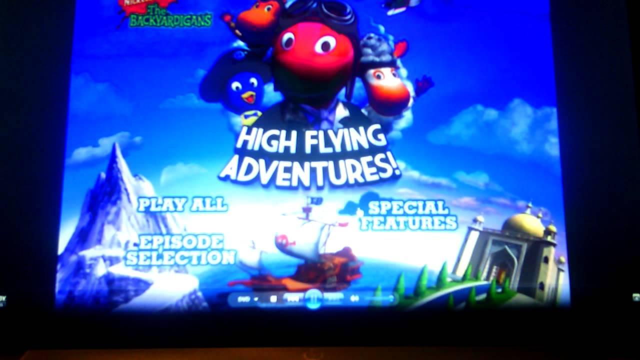 Backyardigans High Flying Adventures Dvd