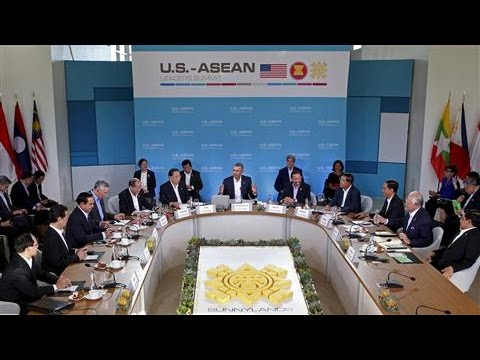 Asean Summit Held in U.S. for the First Time
