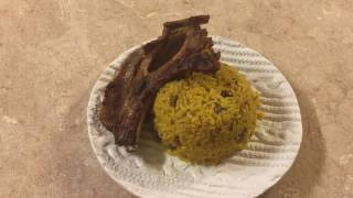 Rice With  Green Pigeon Peas English Version