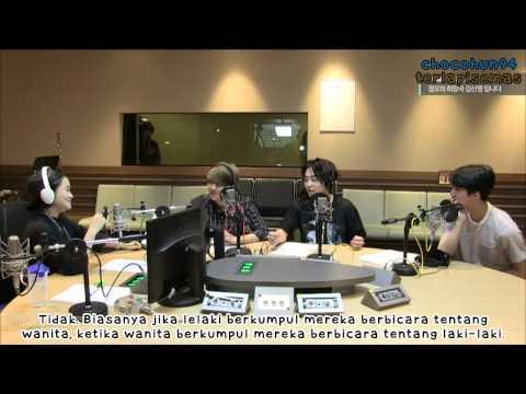 [INDO SUB] 150625 Noon Song of Hope Radio BaekXiuHun Speed Quiz Cut