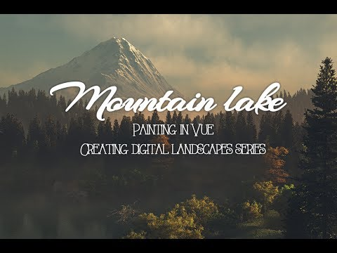 Vue tutorial, project lake adding details with plants part 6