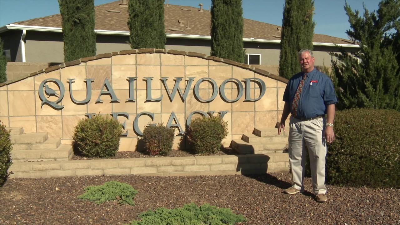 Quailwood Legacy: New Homes in Prescott Valley AZ - YouTube