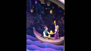 Rapunzel music box @HK Disneyland