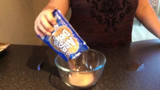 How to make Angel delight chocolate flavour part 1