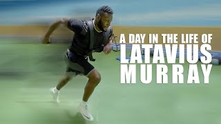 A Day In The Life of NFL Running Back Latavius Murray