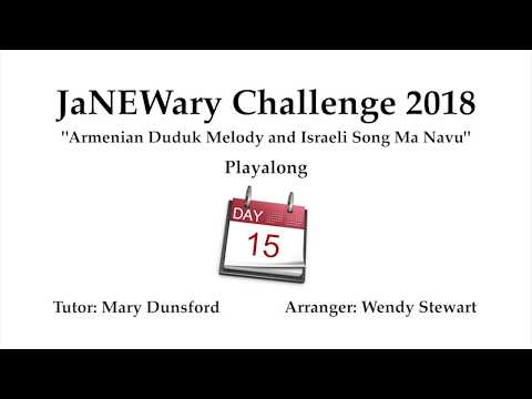 JaNEWary Challenge Day 15 – Playalong and Support