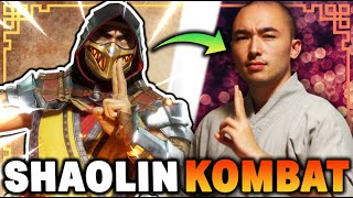 Real Shaolin Disciple Reacts To Mortal Kombat 11 (RECREATION!)