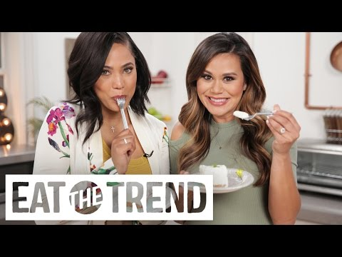 Key Lime Pie With Cinnamon Toast Crunch Crust With Ayesha Curry | Eat The Trend