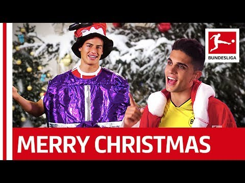 Christmas Song - James, Bartra and More wishes you a Merry Christmas