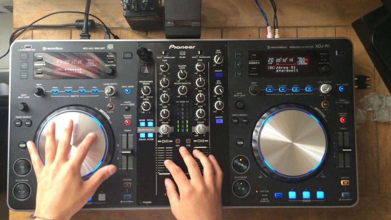 Stonecat – Mixing on Pioneer XDJ-R1