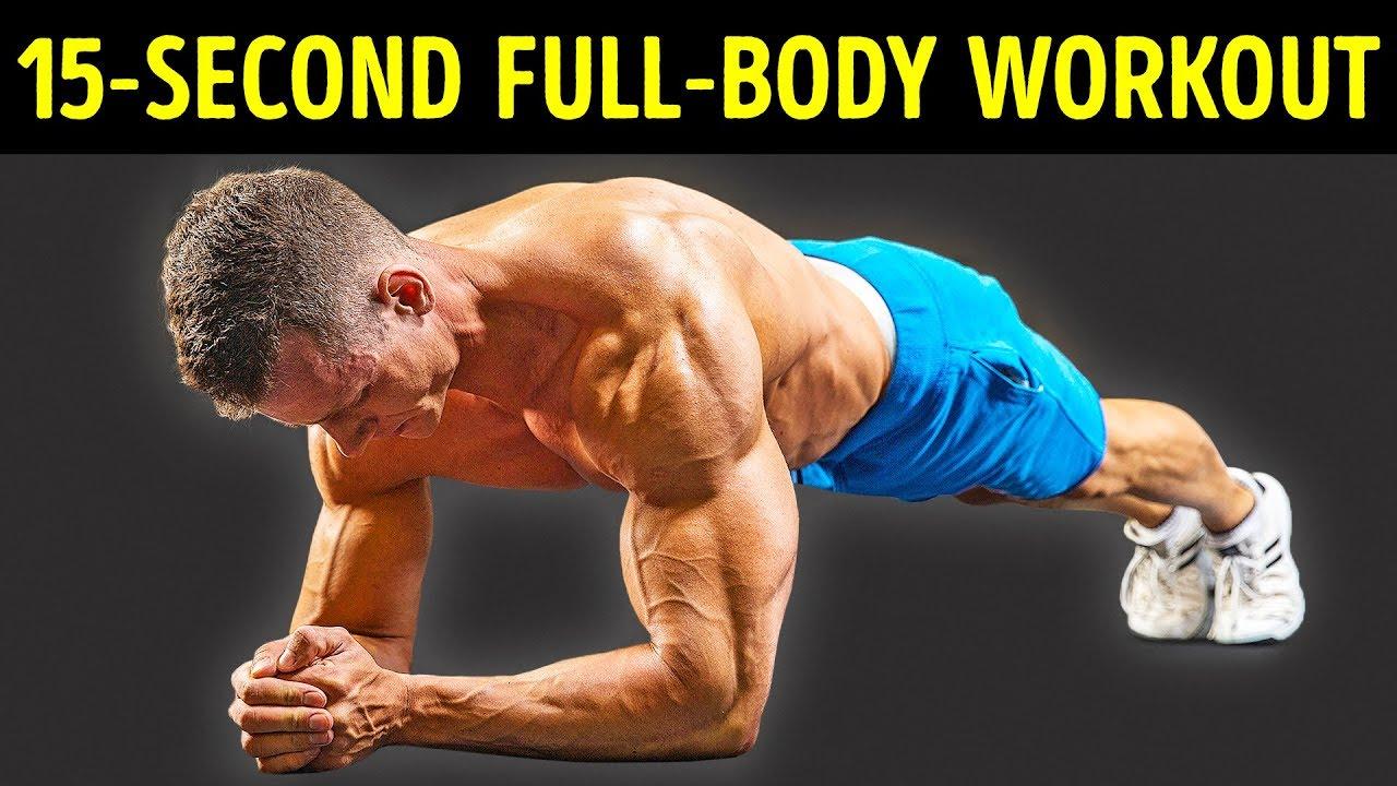 12 Dielen statt einer Stunde im Fitnessstudio + video