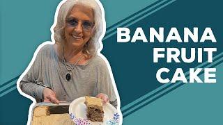 Quarantine Cooking: Banana Fruit Cake Recipe