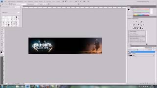 шапка для сайта в Photoshop за 5 минут